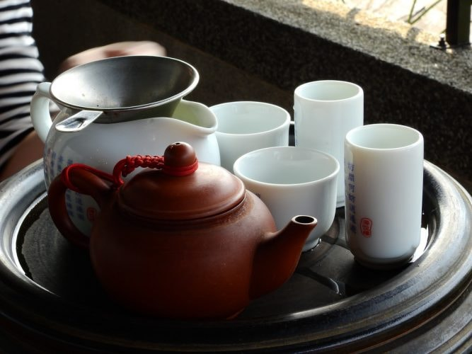 Chinese tea set © ume-y/Flickr