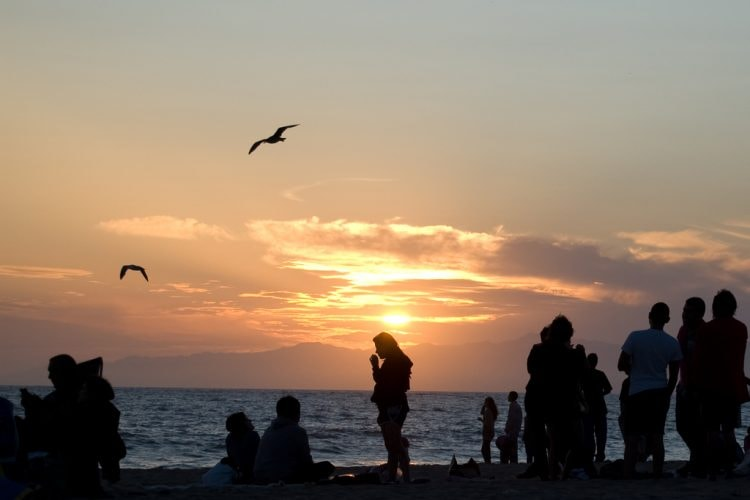 dockweiler-LA-sunset