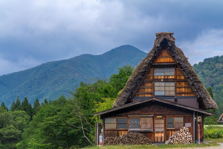 Shirakawa Go farm house, Japan