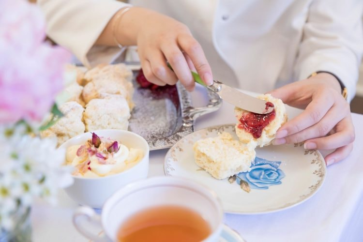 High tea at Mary Eats Cake © Mary Eats Cake
