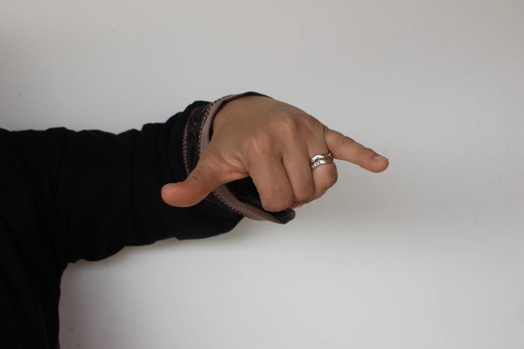 Giza microbus hand signal