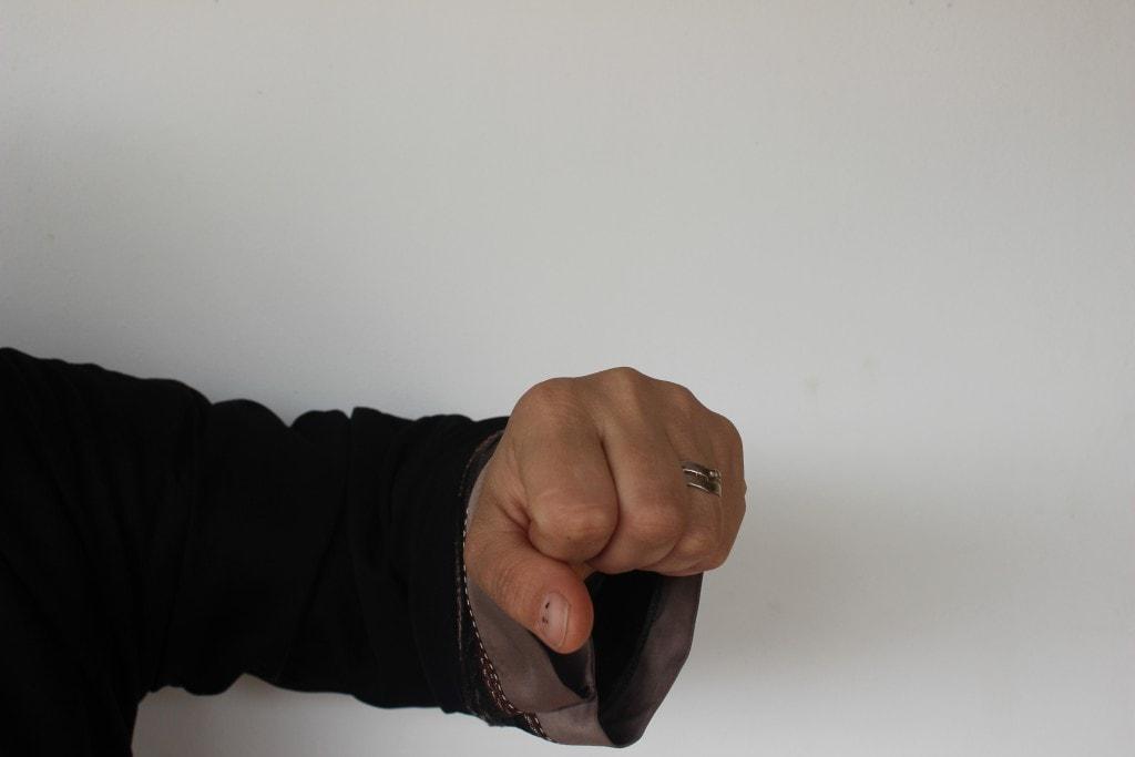 Dokki microbus hand signal