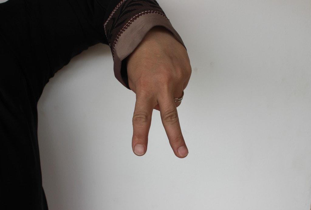 The Pyramids microbus hand signal