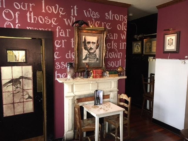 Annabel Lee Cafe Menu