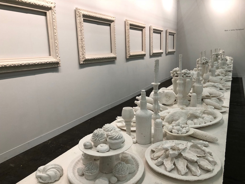 Ken and Julia Yonetani_The Last Supper installation at The Armory Show 2018_Photo by Christine Lee