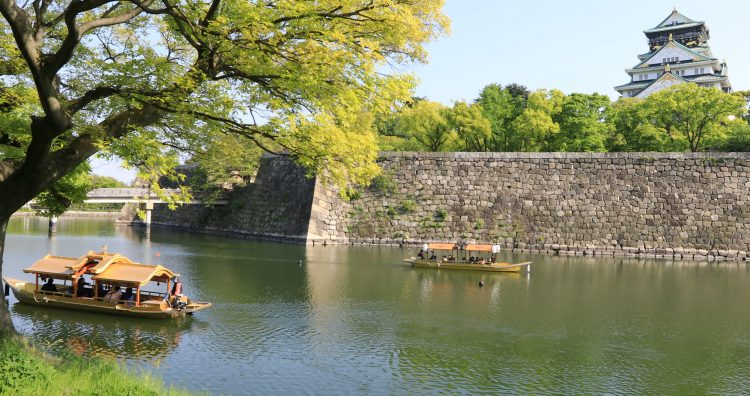 Osaka Castle and Nishinomaru Garden, Japan