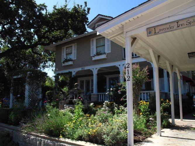The spa at the Lavender Inn.