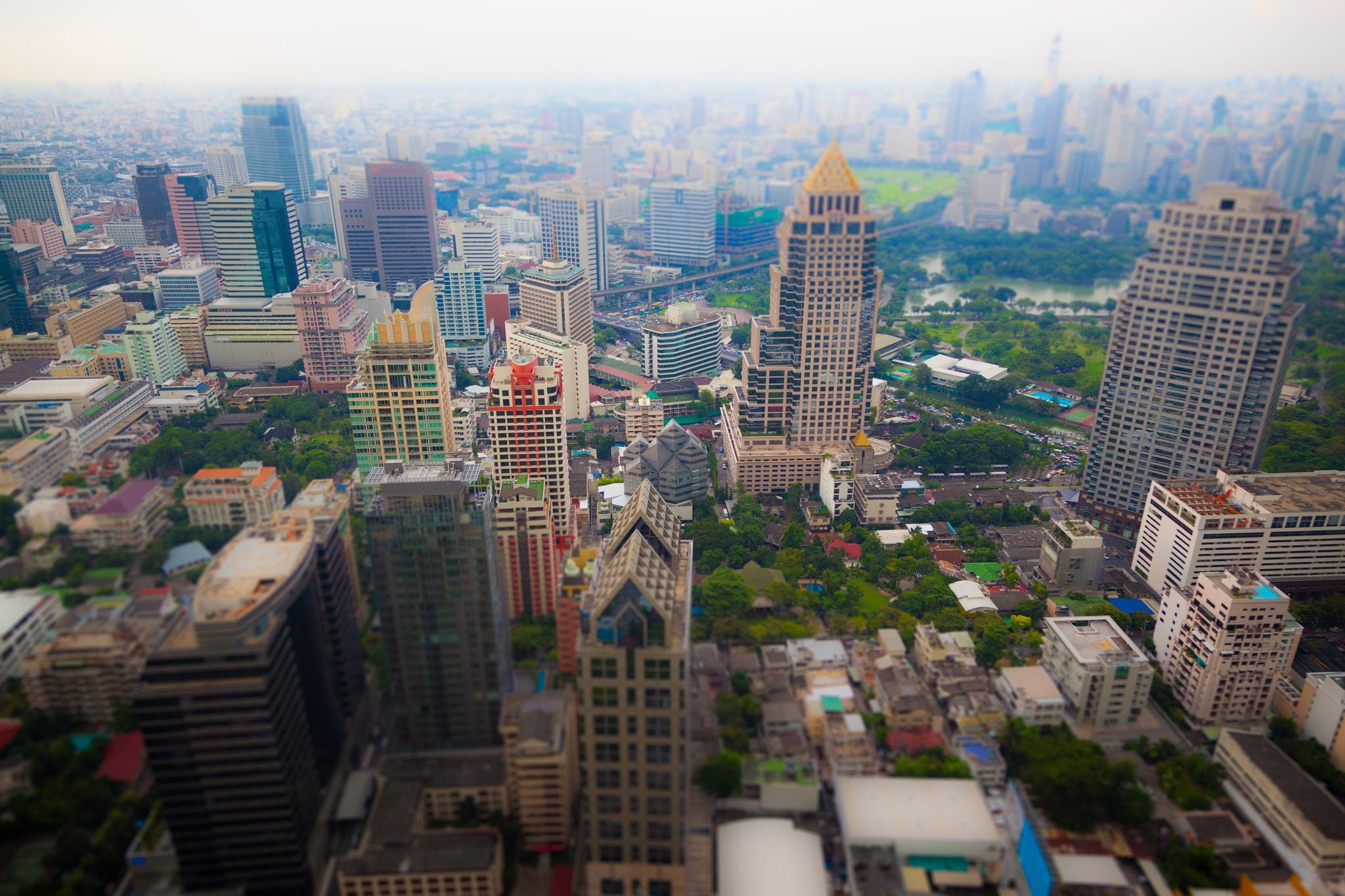 Views from Moon Bar, Bangkok