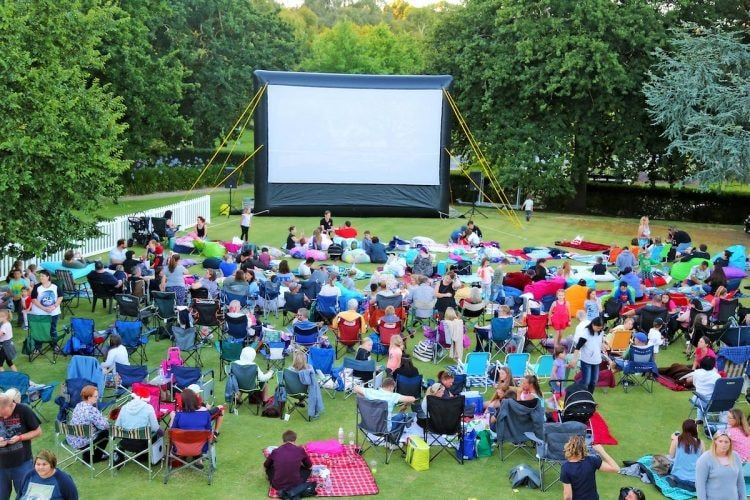 Mount Barker Outdoor Cinema © Wallis