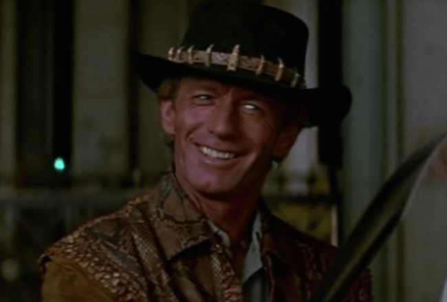 paul hogan shrimp on the Put another shrimp on the barbie prior to tourism australia's disastrous 'where the bloody hell are ya' campaign, paul hogan was cast to deliver the line 'slip an extra shrimp on the barbie for ya' in their 1984 tourist ad.