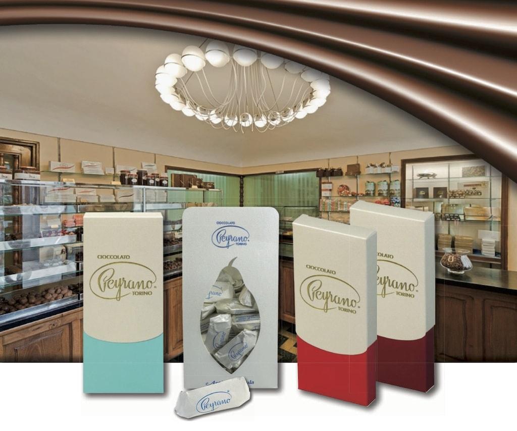 Delicacies from chocolatier Peyrano in Turin   © Peyrano