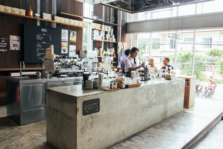 Roots Coffee in Bangkok