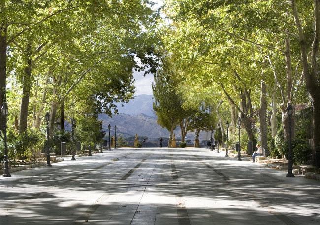 Alameda del Tajo Park in Ronda