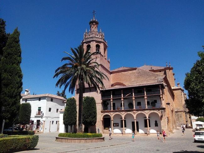 The Santa Maria la Mayor church in Ronda's oldest quarter