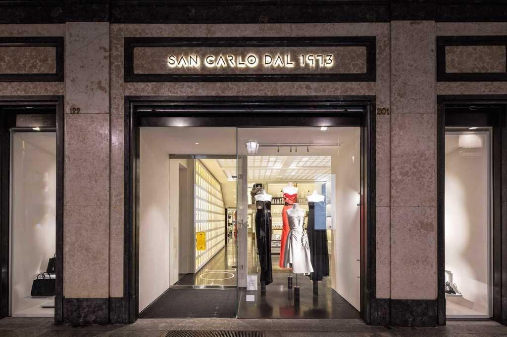 Designer department store San Carlo dal 1973, Turin   Courtesy San Carlo dal 1973