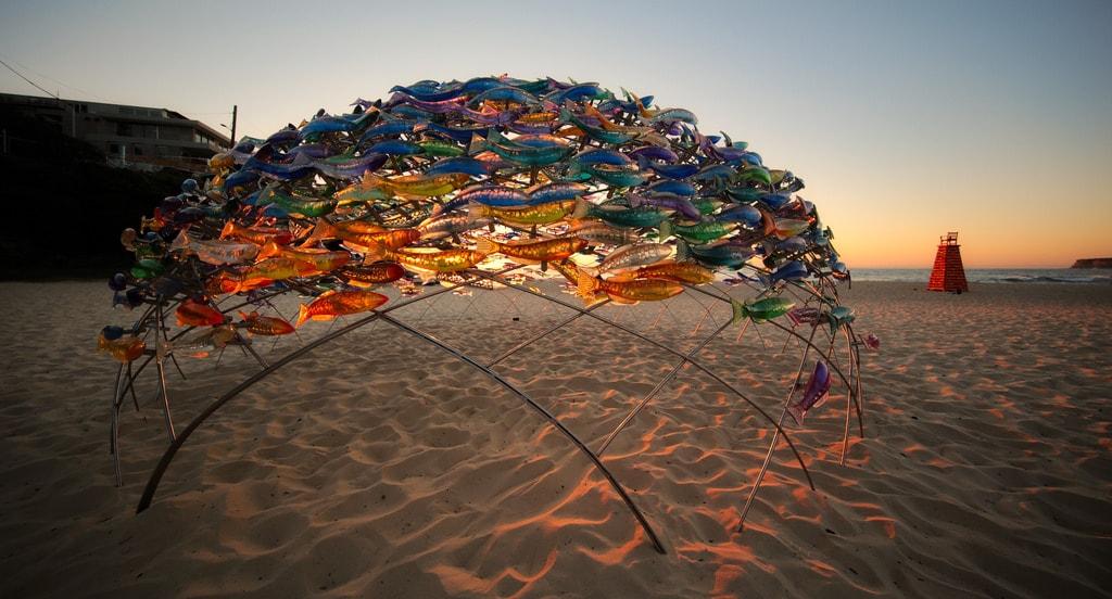 Sculpture by the Sea at Tamarama Beach © Robert Montgomery/Flickr