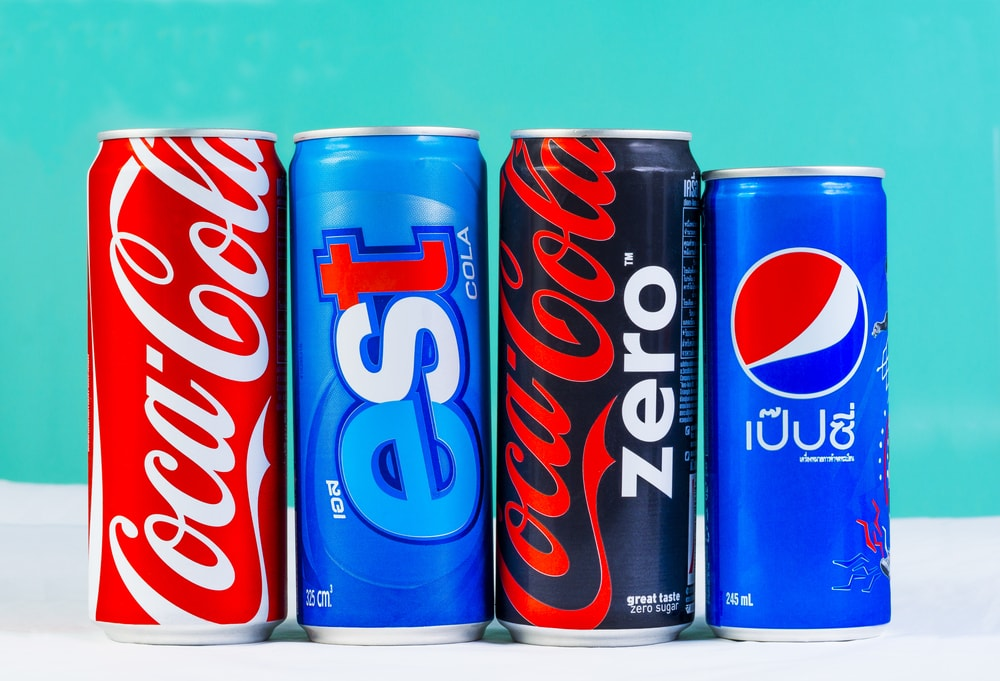 The colas of Thailand