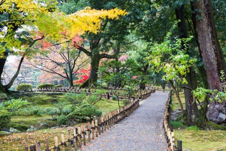 Kenroku-en garden, Kanazawa , Japan