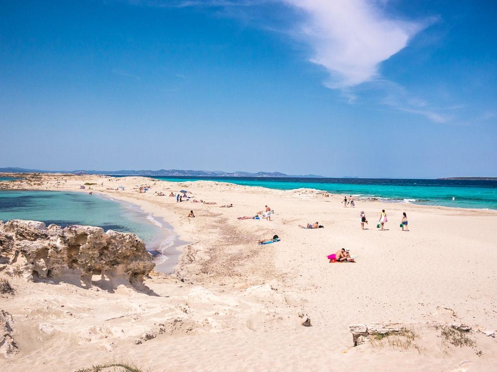 The beach of Ses Illetes, Formentera, Spain | © Sergio TB/Shutterstock