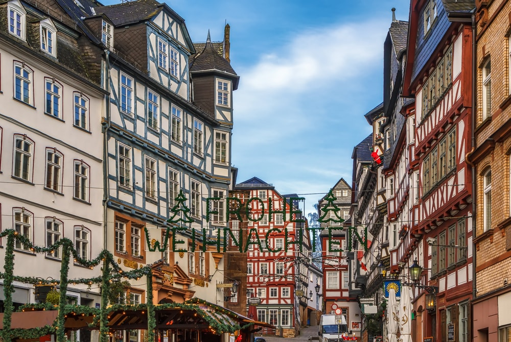 Street in Marburg with half-timbered houses, Germany | © Borisb17/Shutterstock