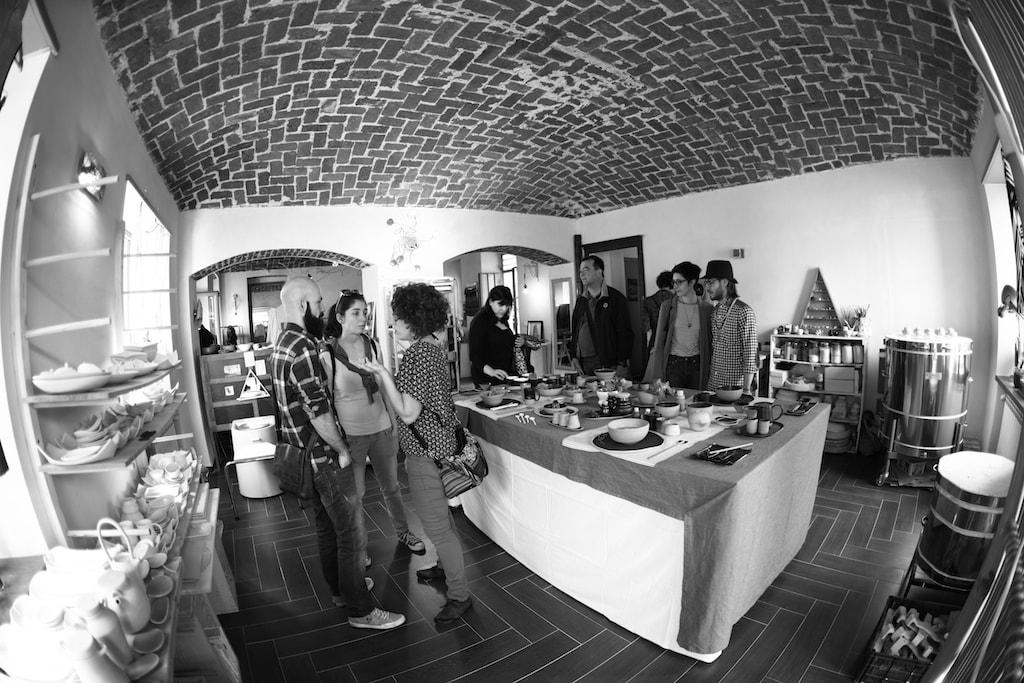 Studio Delta Pottery in Turin, the studio of ceramic artist Anna Basile   © The artist