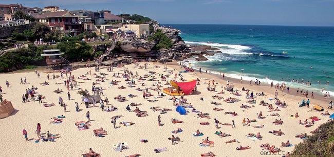 Tamarama Beach   © Emmett Anderson/Wikimedia Commons