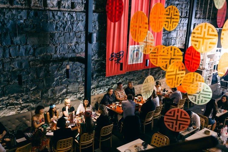 The Oriental Teahouse dining room © The Oriental Teahouse