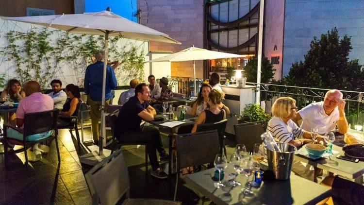 The terrace  © Courtesy of Workhouse Café