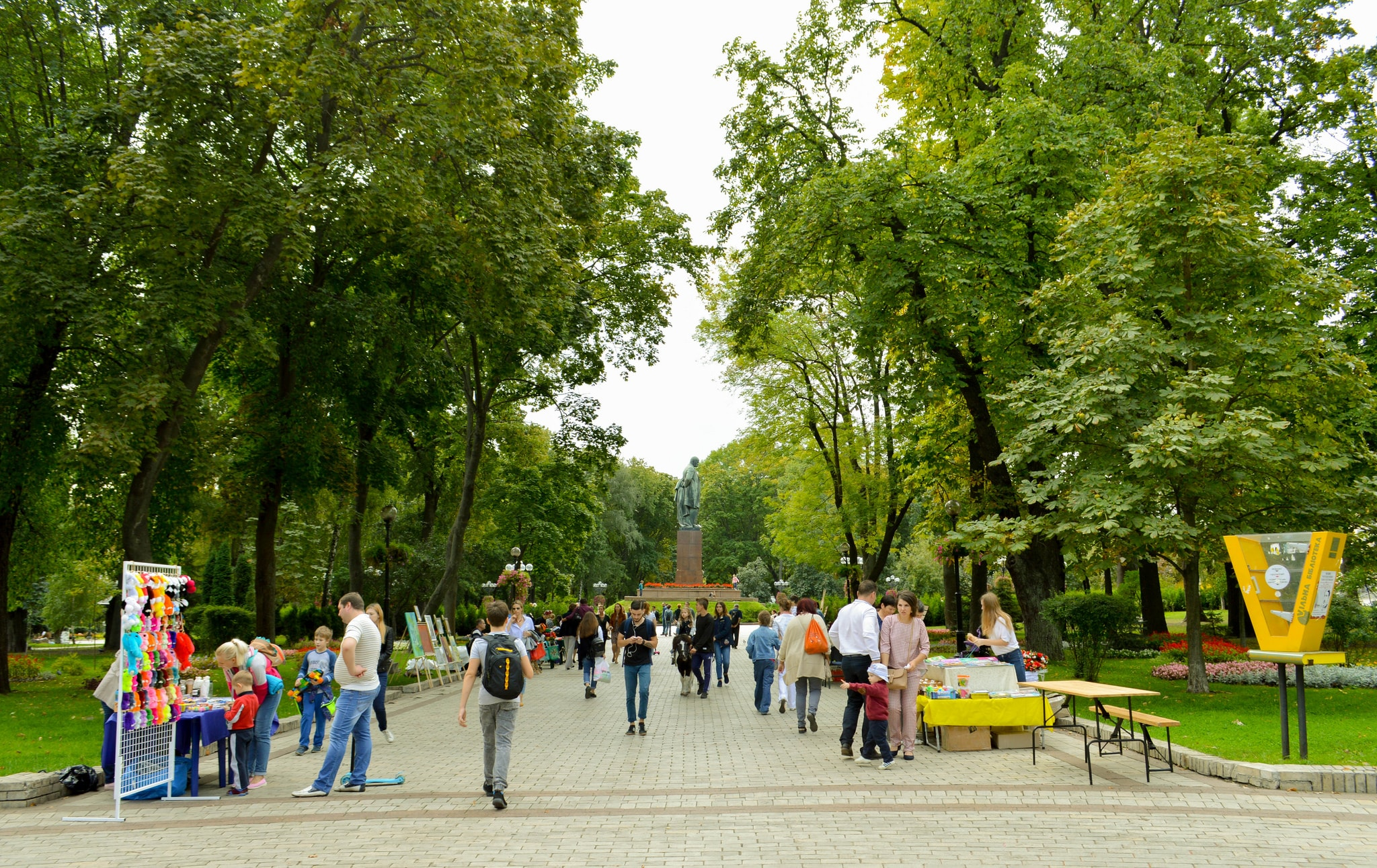 Where to go on a picnic with children: 7 best places in Kiev