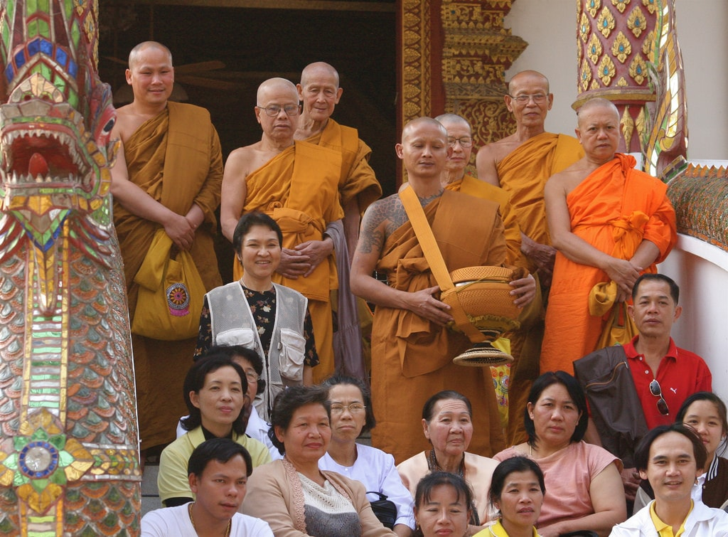 How Men in Thailand Become Monks
