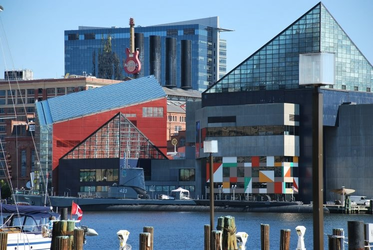 National Aquarium, Inner Harbor, Baltimore, Maryland, Day