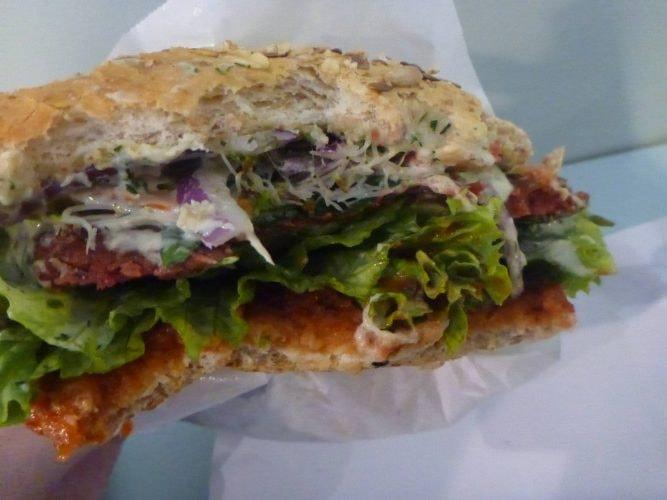 Krowarzywa Vegan Burger   © Northern Irishman in Poland