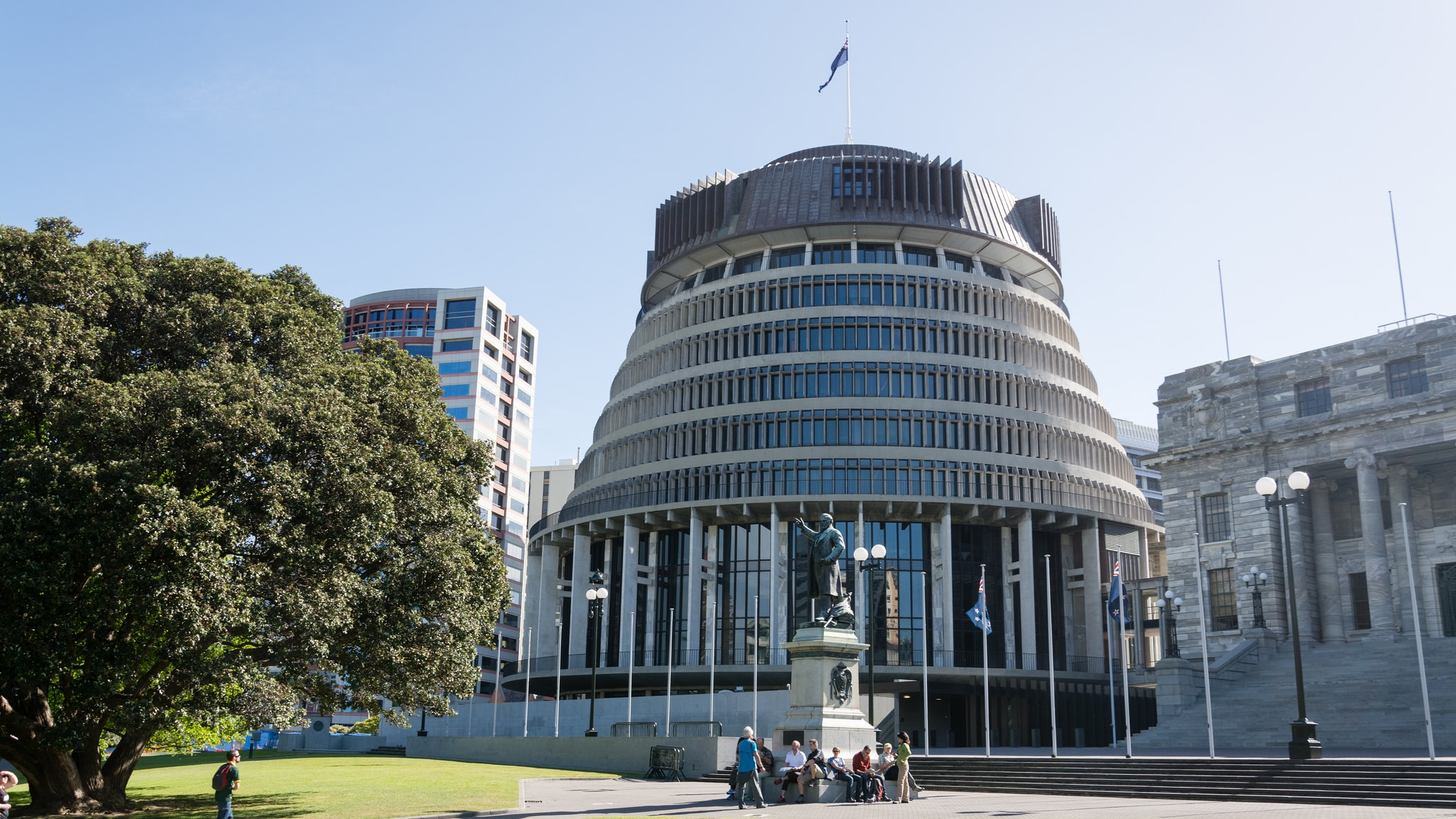 The Beehive: New Zealand's Most Striking Parliment Building