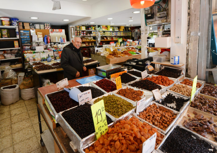 The Levinsky Spice Market is Tel Aviv's Florentin neighbourhood