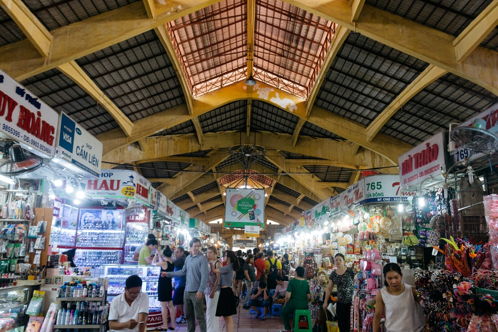 BENTHANH MARKET-DISTRICT 1-SAIGON-VIETNAM