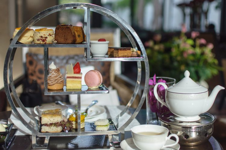 Afternoon tea, desserts and sweets.