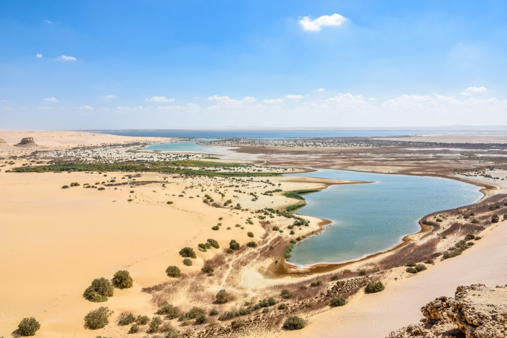 The Most Beautiful Lakes In Egypt