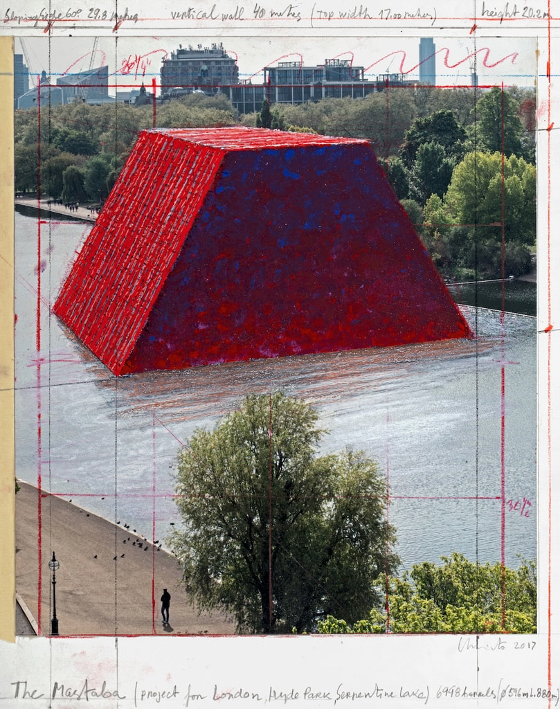 Christo To Install Giant Floating Sculpture In London S