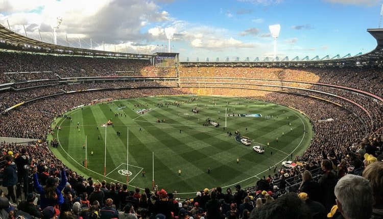 The MCG during the 2017 AFL Grand Final © Flickerd / Wikimedia Commons