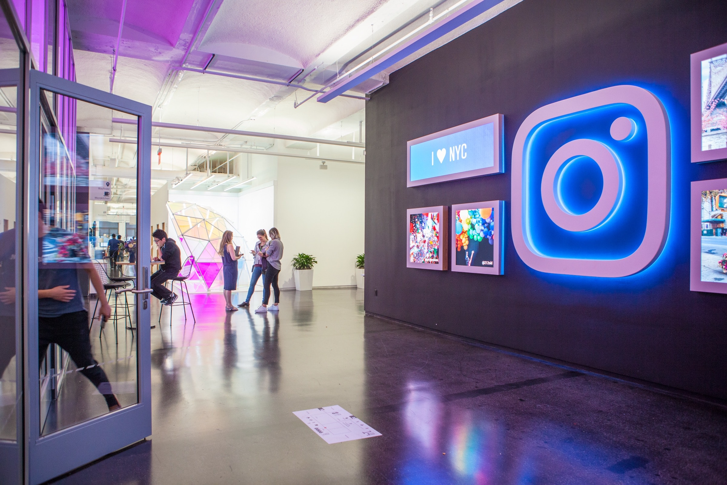 Instagram Unveils Their New Insta-Worthy NYC Headquarters