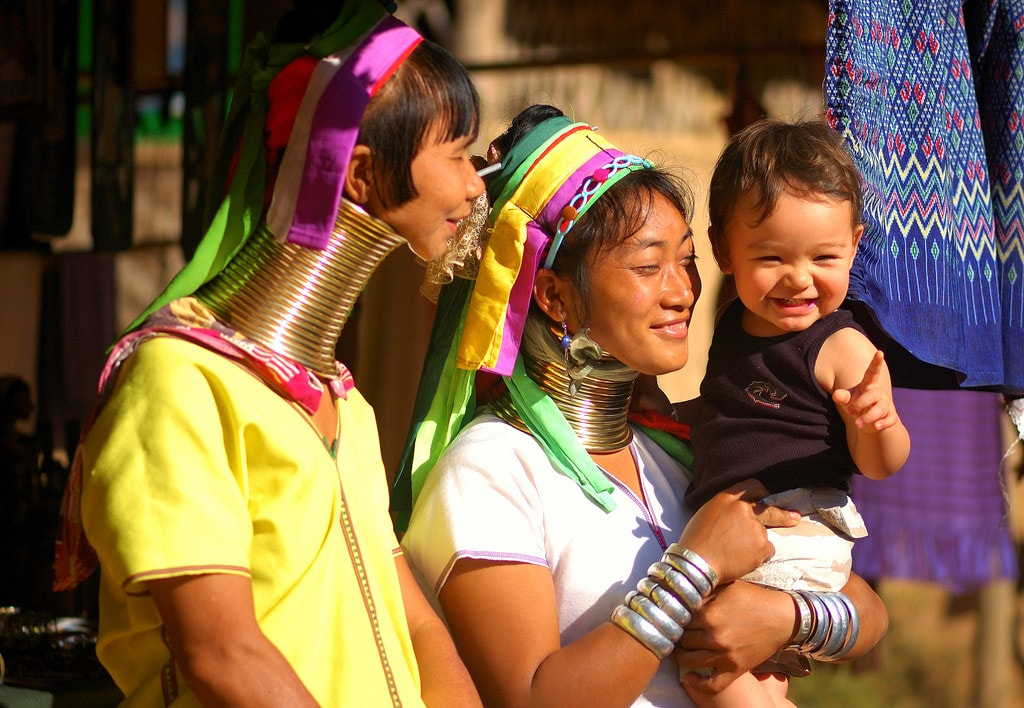 The History of Thailand's Kayan People