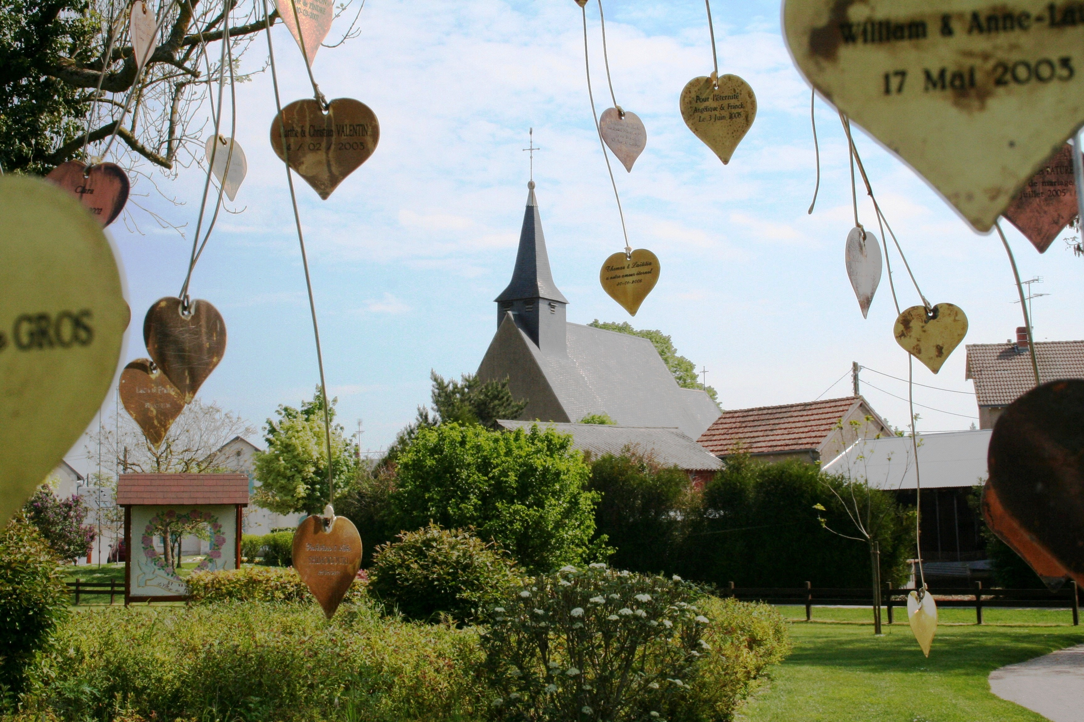 St Valentin The Most Romantic Place In France