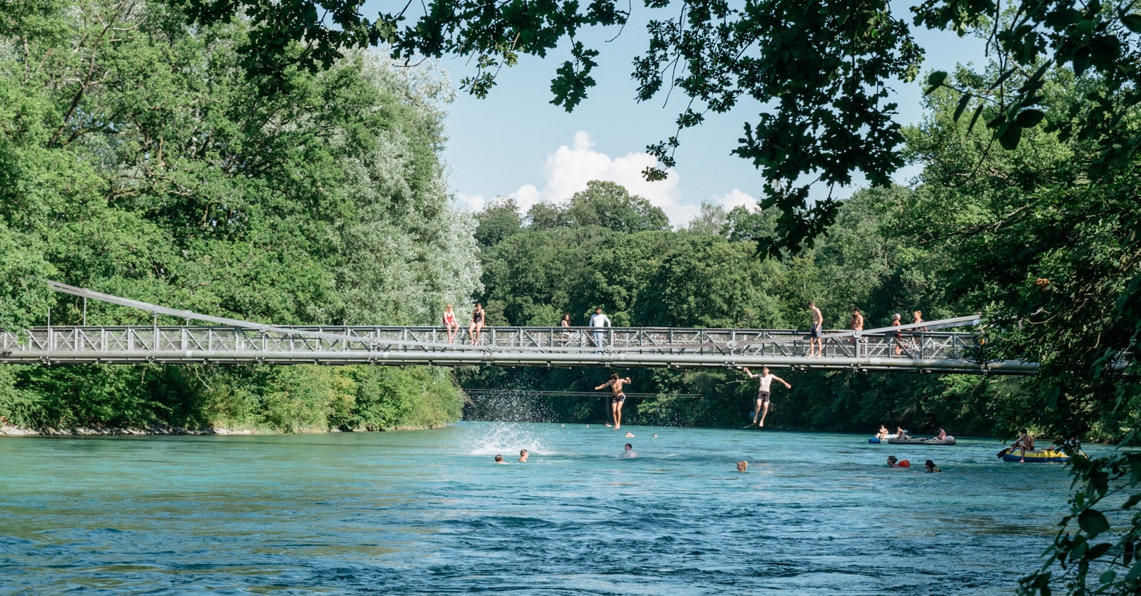 Urban Swimming in Switzerland: Dive into Bern's Aquatic Community