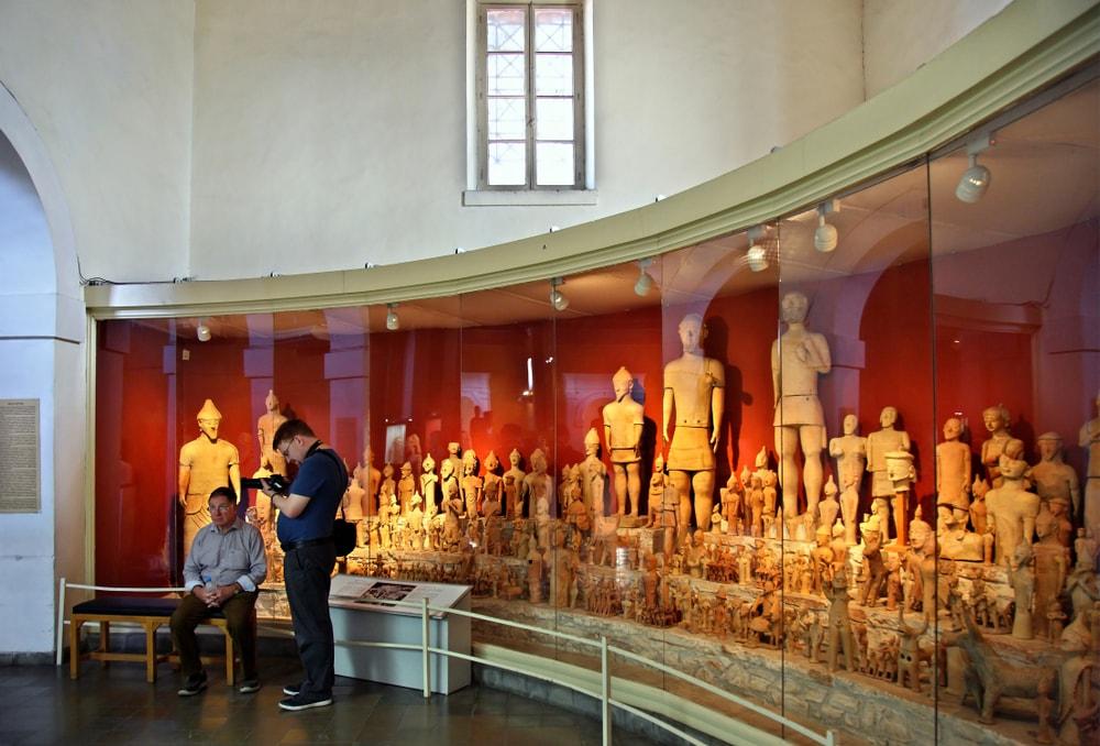 Dedicatory terracotta figurines from the sanctuary of Agia Irini in Cyprus Museum