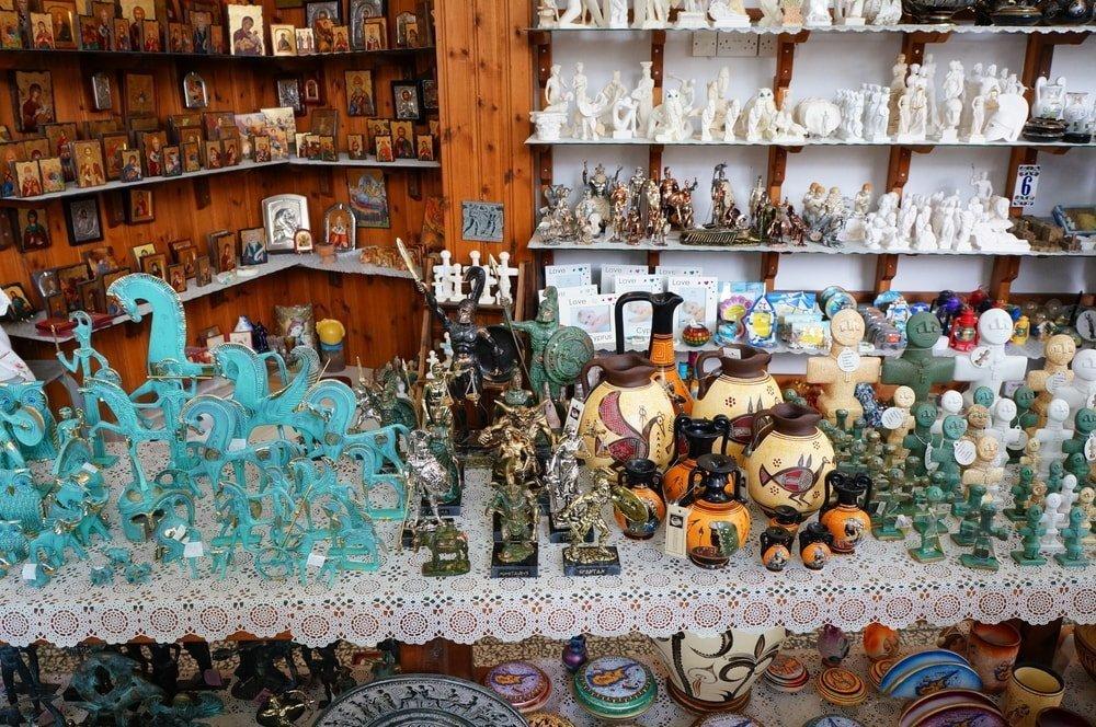Souvenirs at a gift shop, Nicosia, Cyprus