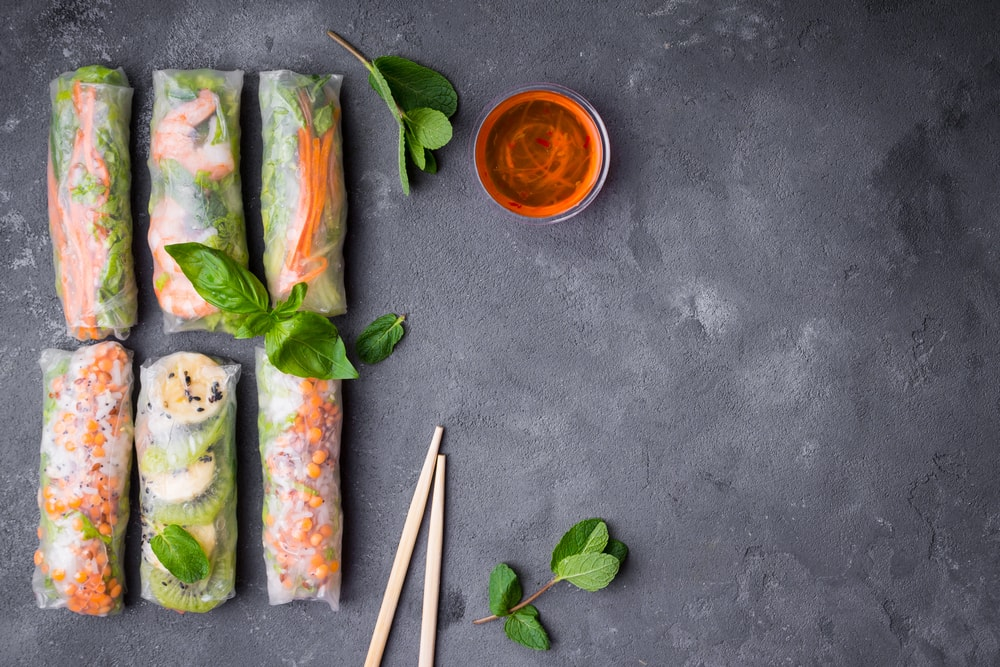 What S The Difference Between Spring Rolls And Summer Rolls