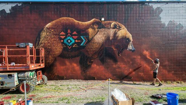 Meet Sonny, the Dynamic Street Artist Advocating Wildlife Conservation