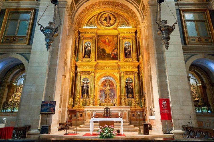 Europe, Portugal, Lisbon, Igreja de Sao Roque (Sao Roque Church). Image shot 04/2019. Exact date unknown.