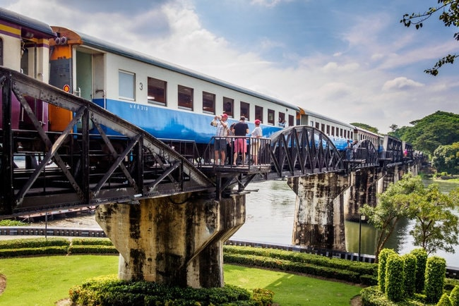 Death Railway: History of the Bridge on The River Kwai