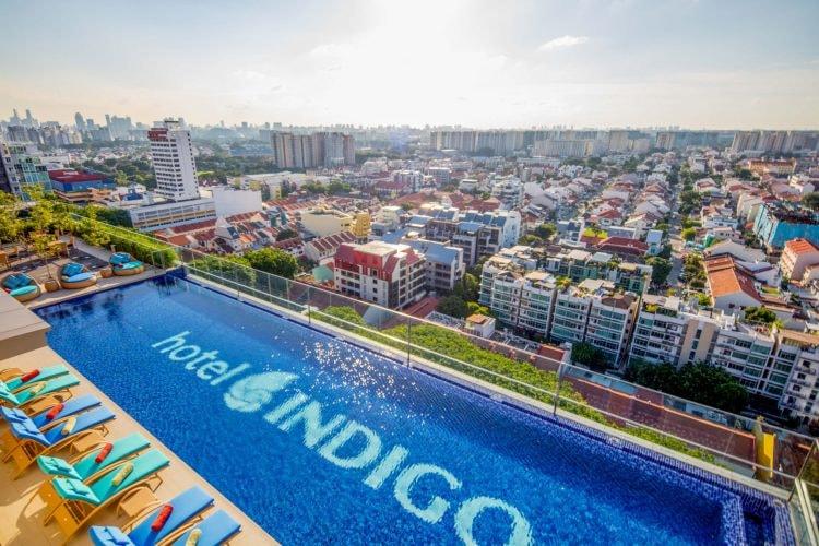 Hotel Indigo Singapore Katong Rooftop Infinity Pool